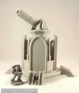 HC3D -Terra Terrain Confessor Cannon- Wargames Miniatures Scenery 40k 28m 15mm