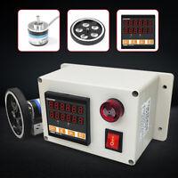 Electronice Digital Meter Counter Rotary Encoder Length Testing Equipment USA
