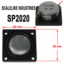 SCALELIKE INDUSTRIES SP2020 2 WATT ALL 8 OHM 20x20 DCC SPEAKER NEW IN PACKAGE