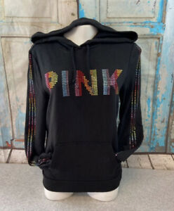 VS PINK Rainbow Bling Pullover S