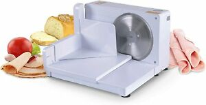 """Meat Slicer Electric Food Deli Bread Cheese Portable Collapsible 6.7"""" inch"""