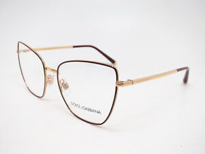 Dolce & Gabbana DG 1314 Gold / Bordeaux 1333 Eyeglasses 54mm