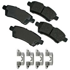 Disc Brake Pad Set-LE Rear Akebono ASP1101A