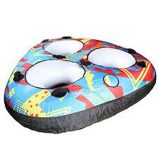 TBF Wave Crusher Trio 3p Triple Rider Unisex Towable Ring Donut Ringo Water Tube