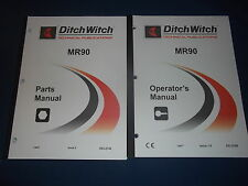 Ditch Witch Mr90 Mud Recycler Parts Operation Amp Maintenance Book Manual Set