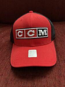 NEW CCM Team Hockey Canada Hat CCM Snapback One Size Fits Most NWT Tags Olympics