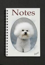 Bichon Frise Notebook  / Notepad By Starprint - Auto combined postage