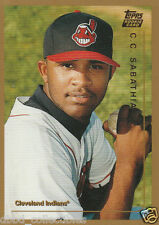 CC SABATHIA New York Yankees 1999 Topps Traded rookie - Qty available
