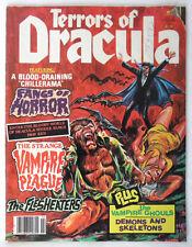 Terrors of Dracula Vol 2 #1 Eerie Publications 1980 Horror Monster Vampire