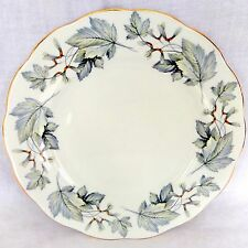 "Royal Albert Silver Maple 10.25"" Dinner Plate Bone China England"