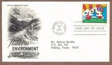 Peter Max Cosmic Jumper FDC STAMP - EXPO 1974 - First Day of Issue - on Envelope