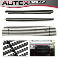 Billet Grille Grill Insert for Nissan Frontier 01-04 Upper+Lower Bumper