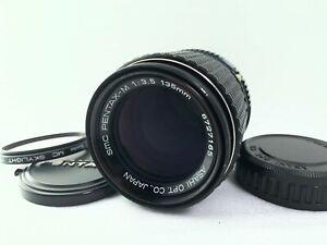 <MINT> Pentax SMC-M 135mm f/3.5 Manual MF Telephoto Lens For K Mount Japan 2423
