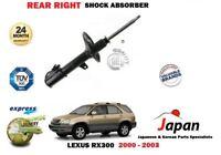 Per Lexus Rx 300 3.0 4X4 2000-2003 Nuovo Posteriore Destro Lato Ammortizzatore