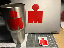 IRONMAN Half IM Triathlon MDOT Vinyl Sticker Decal TRI 70.3 logo 140.6