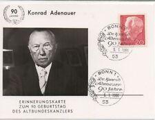 Briefmarken aus Berlin (1960-1969) mit Sonderstempel