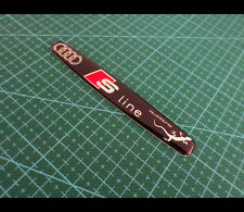 Audi S LINE Sport Germany badge emblem Sticker S4 A4 A5 A6 R8 RS7 TT Quattro #2