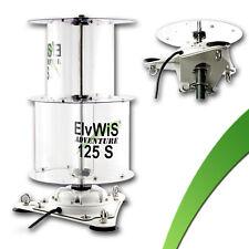 100W vertikal Windgenerator ElvWiS ® ADVENTURE 125S zerlegbar +Halterung 12V/24V