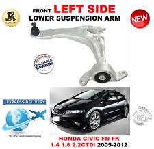 Para HONDA CIVIC Hatchback 2005-2012 brazo de control frontal inferior izquierda pista FN FK