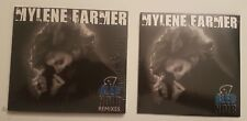 MYLENE FARMER - LOT BLEU NOIR - CD SINGLE + CD MAXI NEUF SCELLE