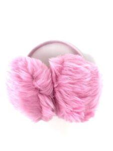Children's Ear Muffs Girls Baby Pink Faux Fur Girls Toddler Warm Ear Warmers