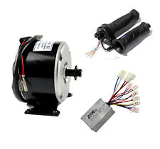 250W 24V Electric Motor Brushed Speed Controller Throttle Grip for ebike Scooter