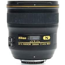Nikon AF-S 24mm f1.4 G ED N Nikkor Lens with Hood