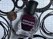 DEBORAH LIPPMANN Nail Polish * ONE MORE NIGHT * .27 oz Fashion Size