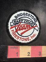 Vtg BRIDGESTONE FIRESTONE EAST COAST TEAM Car / Auto Tire Related Patch 94J4