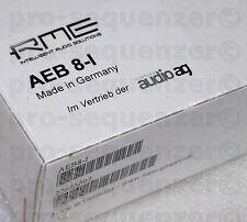 RME AEB 8-i espansione input Board per HDSP 9652 9632 8 Channel + NUOVO OVP GARANZIA