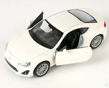 Livraison rapide toyota 86 crème welly modèle auto 1:34 NOUVEAU & OVP