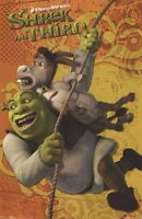 SHREK THE THIRD ~ SWING WITH DONKEY 22x34 MOVIE POSTER 3 NEW/ROLLED!