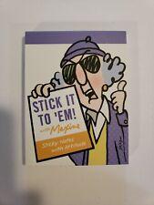 Hallmark Maxine Stick It To 'Em Book Sticky Notes With Attitude