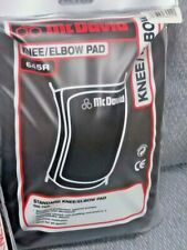 One (1) Pair Mcdavid Knee/Elbow Pads - #645R - Black - New/Never Used - Size L
