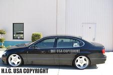 HIC USA 98 to 05 Aristo Lexus GS 300 400 430 rear roof window visor spoiler 2jz