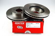 2X MINTEX FRONT DISC BRAKES MDC2641 FOR MITSUBISHI L 200/TRITON 2.4 2.5 3.2 3.5
