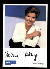 Bettina Böttinger Autogrammkarte Original Signiert # BC 139322