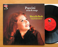 Marcella Reale Puccini Arias & Songs John Matheson 1973 NM/EX EMI 3C 063-18477