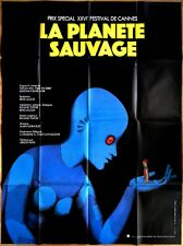affiche originale LA PLANÈTE SAUVAGE (1973)  René LALOUX * Roland TOPOR