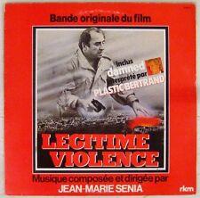 Légitime violence 33 tours Brasseur Genest Lhermitte Sénia 1982
