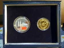 Malaysia China 40 years set of 2 proof coin