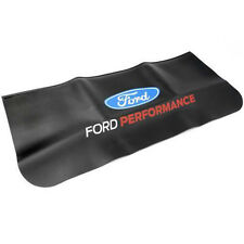 FORD PERFORMANCE RACING BLACK VINYL TOP ENGINE MECHANIC PROTECTOR FENDER COVER