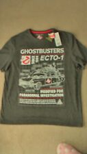 Mens new Ghostbusters T-shirt grey 2XL machine washable