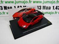 LB69O voiture 1/43 IXO LAMBORGHINI GALLARDO LP 570-4 super Troféo stradale 2011