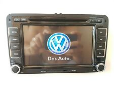 autoradio rns510 + obd diagnosi motore stereo vw golf passat tiguan touran polo