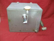 Vintage Old Georgetown Beer Keg Tap Cooler Dispenser