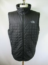E7558 THE NORTH FACE Full-Zip Quilted Vest Size XL