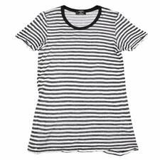 CABANE de ZUCCA stripe cotton gauze tops Size M(K-31201)