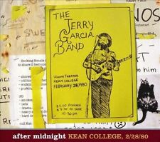 After Midnight: Kean College 2/28/80 Jerry Garcia Band / Sealed OOP 3 CD Set