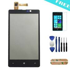 Black Touch Screen Glass Digitizer Lens Replacement For Nokia Lumia 820 +Tools